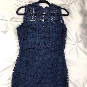 Karlie Dress!! Navy Lace